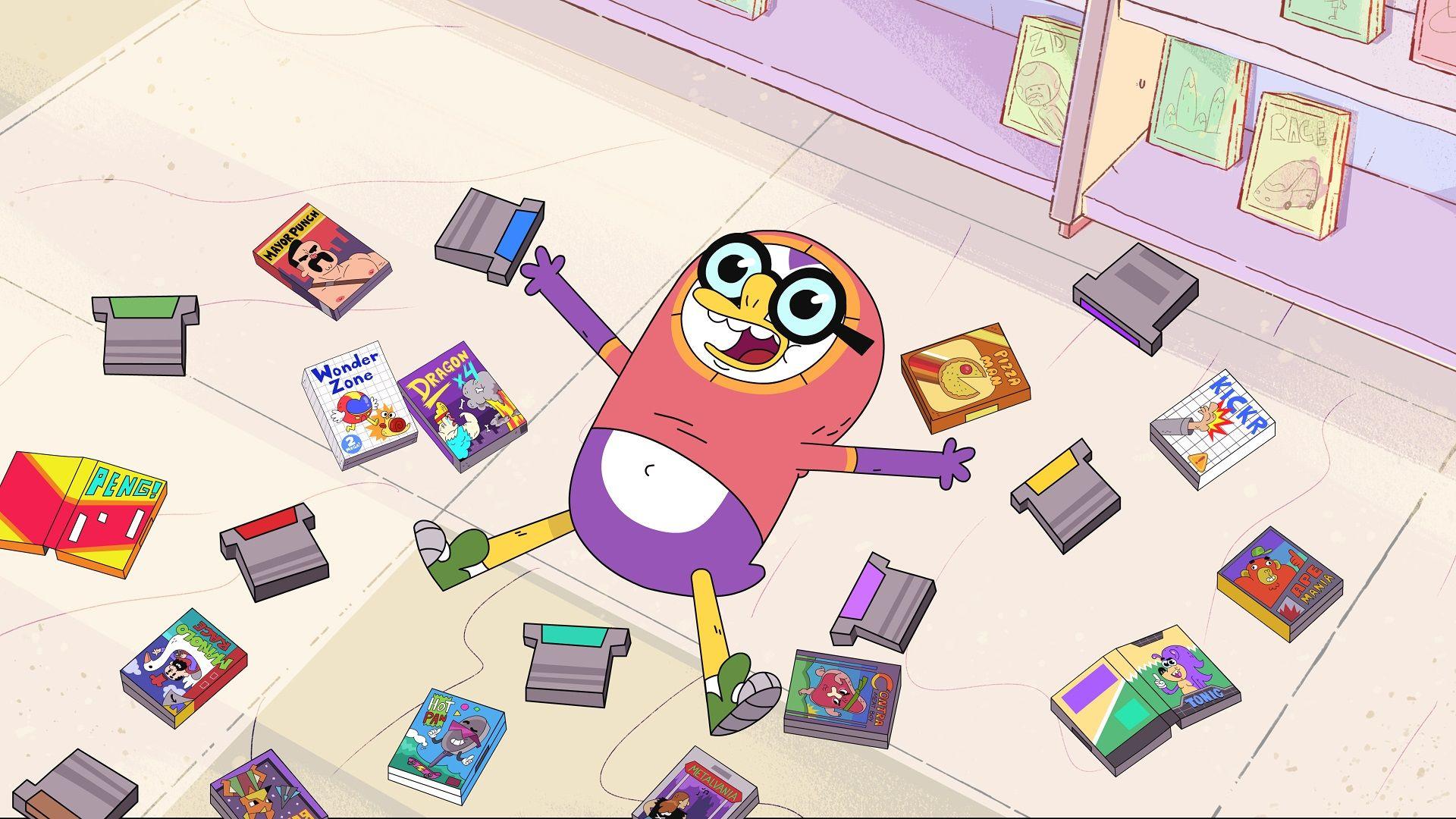 'Oswaldo' playing video games