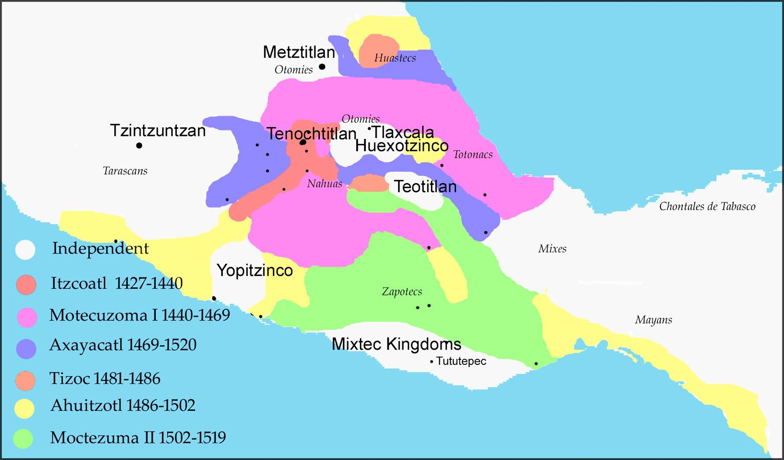 Aztec City States before the Conquest