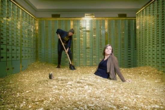 A pit of gold coins needed to pay for daily private coaching