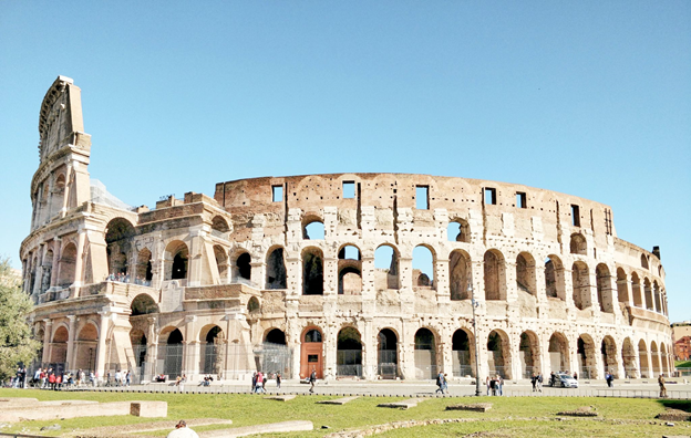 Photo of the Colosseum