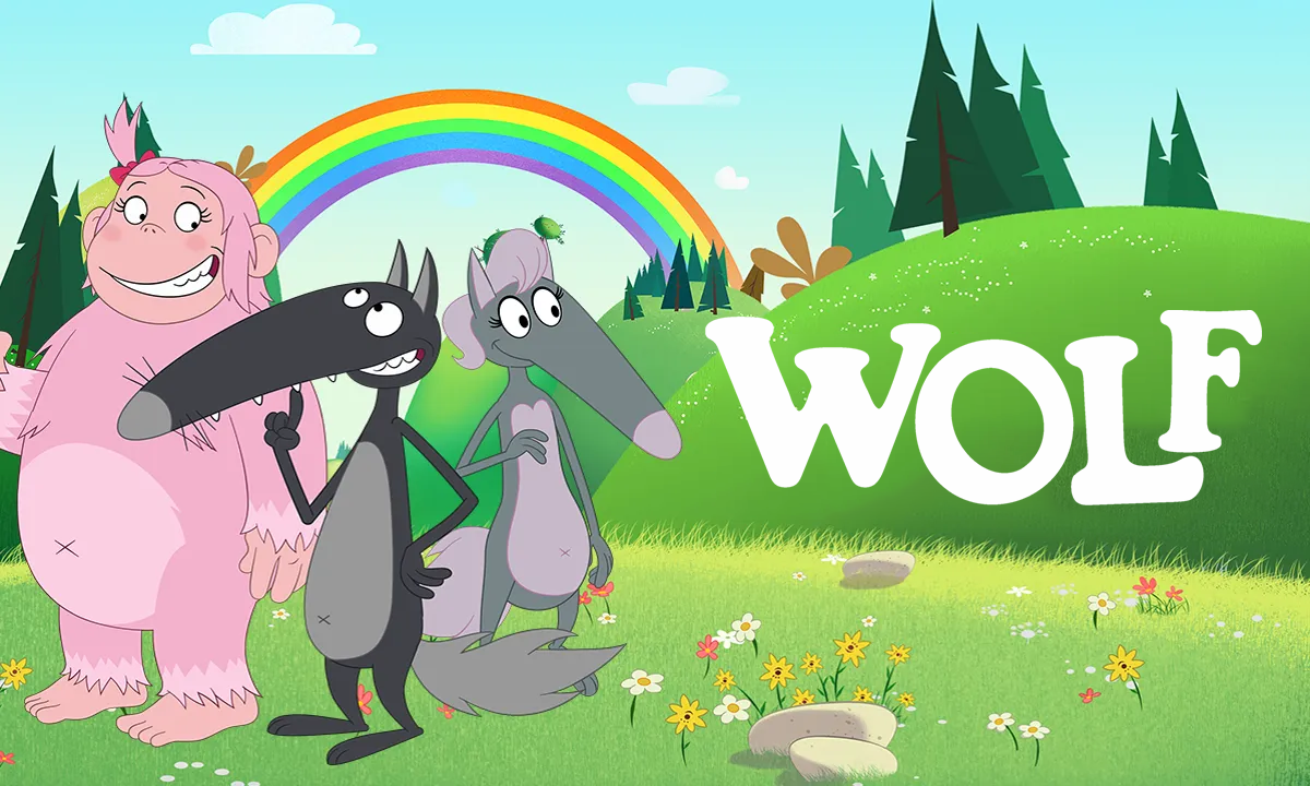 Learn German with Wolf - TV show cover