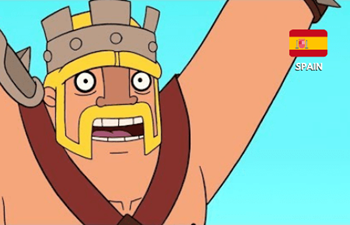 a picture of Clash Royale - Spanish cartoon