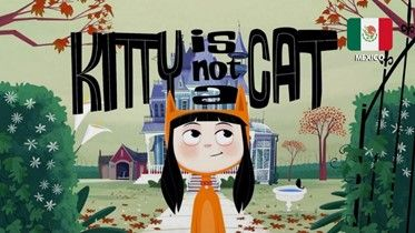 a picture of Kitty Is Not a Cat - Mexican Cartoon