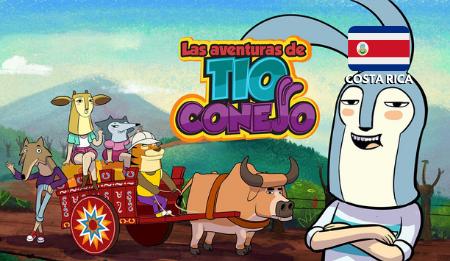 a picture of Las Aventuras de Tío Conejo - Costa Rican cartoon