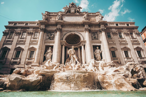 A photo of Trevi Fountain in Rome, Italy, by Cristina Gottardi