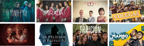 Spanish TV Shows on Lingopie