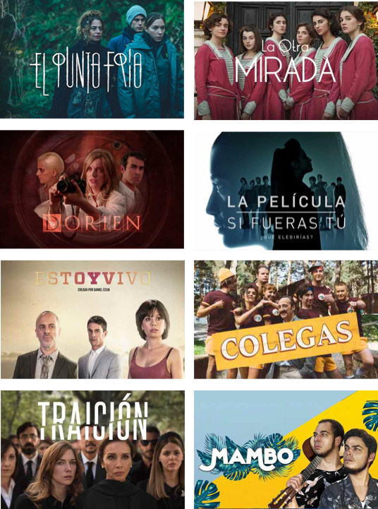 Spanish TV Shows on Lingopie mobile